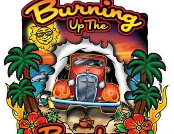 Burning Up the Beaches Logo